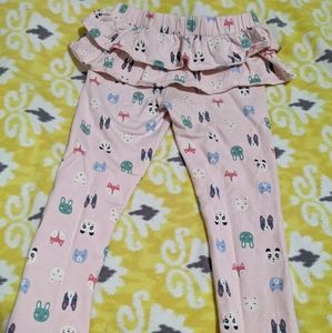 Cute ruffle thick leggings